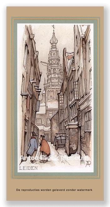 Leiden stadhuistoren