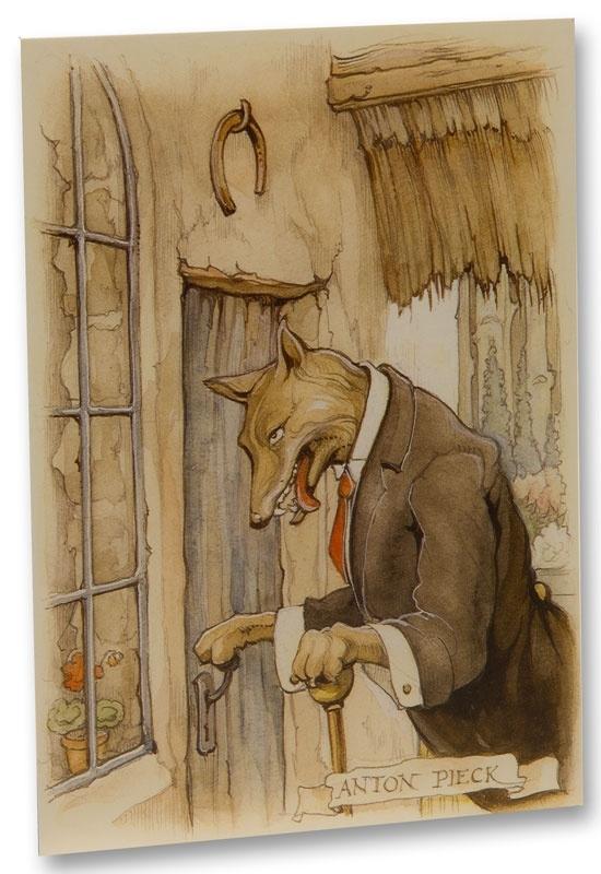 Boze Wolf (ansichtkaart)
