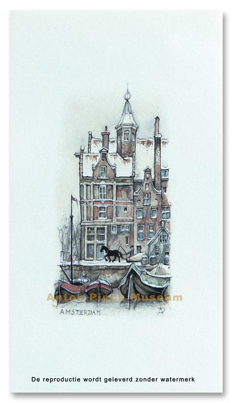 Amsterdam, huis met torentje (Unieke Amsterdam collectie)
