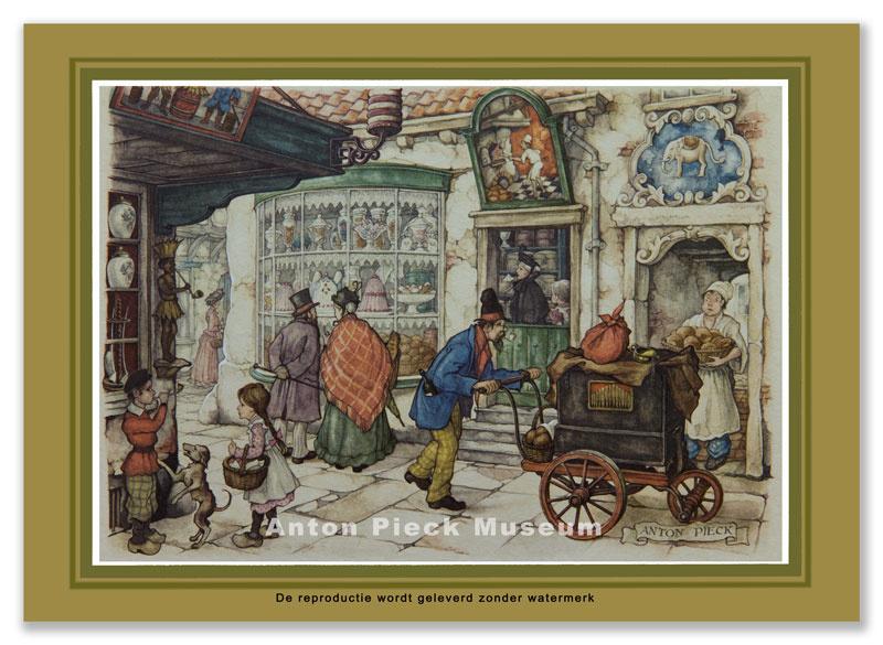 Bakkerswinkel met orgel (grootformaat)