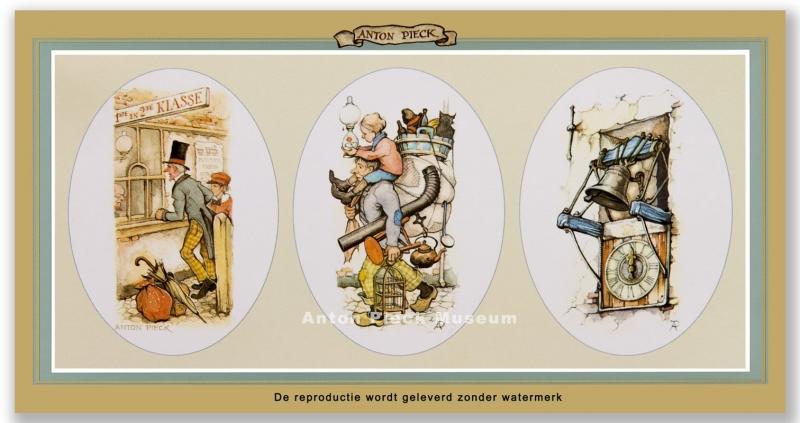 Treinloket, Verhuizer, Torenklok