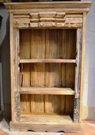 Open oud kastje India 69x35xh107 cm