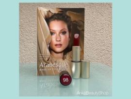 Arabesque Perfect colour lipstick 98 (purperrood)