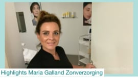 High-lights Maria Galland Zon-verzorging.