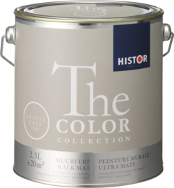 Histor The Color Collection Muurverf - 2,5 Liter - Gravel Grey