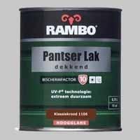 Rambo Pantserlak Dekkend Klassiekrood 1106 BF 10 Zijdeglans
