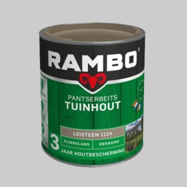 Rambo Pantserbeits Tuinhout Transparant Antraciet 1216 - 0,75 Liter