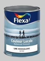 Flexa Couleur Locale Balanced Finland Balanced Spa (4005) Hoogglans - 0,75 Liter