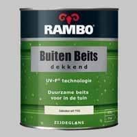 Rambo Buitenbeits Dekkend Gebrokenwit 1102 Zijdeglans - 0,75 Liter