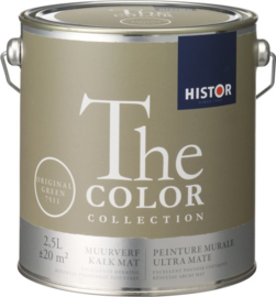 Histor The Color Collection Muurverf - 2,5 Liter - Original Green