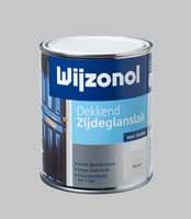 Wijzonol DEKKEND Zijdeglanslak Grachtengroen 9277 - 0,75 Liter