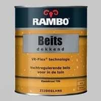 Rambo Beits Dekkend Klassiekrood 1106 Zijdeglans - 0,75 Liter