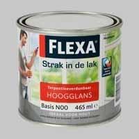 Flexa Strak in de Lak Hoogglans Mengservice Donkere Kleuren - 0,5 Liter