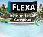 Flexa Couleur Locale Caribbean Puur Aqua 4025 Zijdeglans - 0,75 Liter