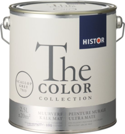 Histor The Color Collection Muurverf - 2,5 Liter - Scallop Grey