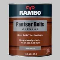 Rambo Pantserbeits Dekkend Leisteengrijs 1124 Hoogglans - 0,75 Liter