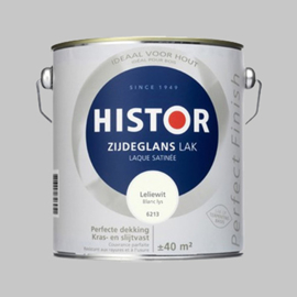 Histor Perfect Finish Lak Leliewit 6213 Zijdeglans - 20 Liter