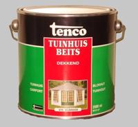 Tenco Tuinhuisbeits Dekkend Wijnrood 475 - 10 Liter