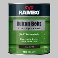 Rambo Buitenbeits Transparant Donker Eiken 1203 Zijdeglans - 0,75 Liter