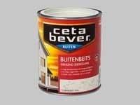 Cetabever Beits UV Dekkend Zijdeglans Mergelwit 704 - 0,75 Liter