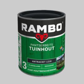 Rambo Pantserbeits Tuinhout Antraciet 1216 - 0,75 Liter