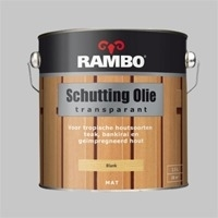 Rambo Schutting Olie Transparant Teakhout 1204 - 2,5 Liter