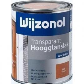 Wijzonol Transparant Hoogglanslak Whitewash 3155 - 0,75 Liter