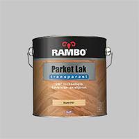 2 x Rambo Parket Lak Blank 701 Zijdeglans - 2,5 Liter (WATERGEDRAGEN)