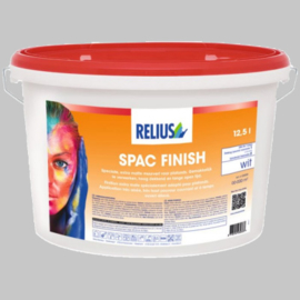 Relius SPAC Finish Wit - 12,5 Liter