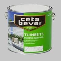 Cetabever Tuinbeits Dekkend Zijdeglans ivoorwit 743 - 3  Liter