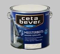 Cetabever Meesterbeits UV Dekkend Crèmewit 714 Zijdeglans - 1,25 Liter