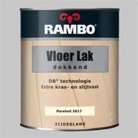 Rambo Vloerlak Dekkend Diepzwart 5011 - 0,75 Liter
