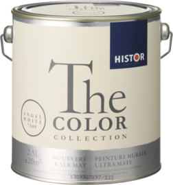 Histor The Color Collection Muurverf - 2,5 Liter - Angel White