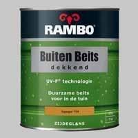 Rambo Buitenbeits Dekkend Zuiverwit 1100 Zijdeglans - 0,75 Liter