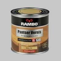 Rambo Pantser Vernis Hout Transparant Blank 071 Hoogglans - 2,5 Liter
