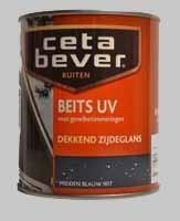 Cetabever Beits UV Dekkend Zijdeglans ivoorwit 743  - 0,75 Liter