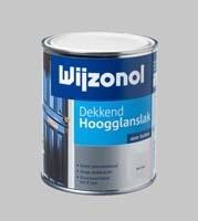 Wijzonol DEKKEND Hoogglanslak Korengeel 9187 - 0,75 Liter