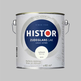 Histor Perfect Finish Lak Katoen RAL 9001 Hoogglans - 20 Liter