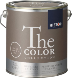Histor The Color Collection Muurverf - 2,5 Liter - Hare Brown