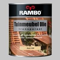 Rambo Tuinmeubel Olie Transparant Blank - 0,75 Liter