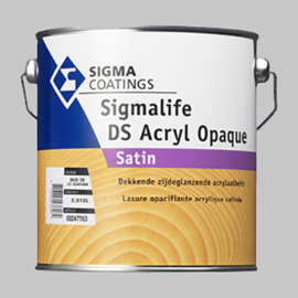 Sigma Sigmalife DS Acryl Opaque Dekkend RAL 9010 -  2,5 Liter