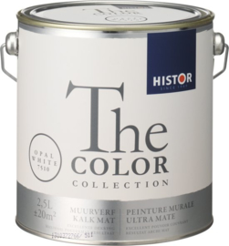 Histor The Color Collection Muurverf - 2,5 Liter - Opal White
