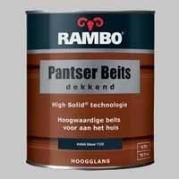 Rambo Pantserbeits Dekkend Diepblauw 1133 Hoogglans - 0,75 Liter