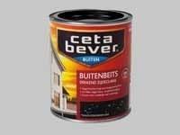 5 x Cetabever Beits UV Dekkend Zijdeglans Engels rood 407- 0,75 Liter