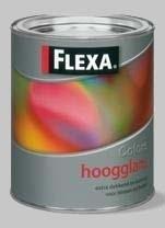 Flexa Colors Lak Mengservice Alle Kleuren Hoogglans - 1 Liter