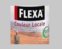 10 blikken Flexa Couleur Toscane Donker Terra (5035) Hoogglans - 0.75 Liter
