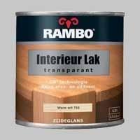 Rambo Interieurlak Transparant BF 8 Warmwit 750 - 0,75 Liter