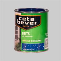 Cetabever Tuinbeits Dekkend Zijdeglans Bretons blauw 904 - 0,75 Liter