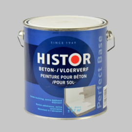 Histor Beton / Vloerverf Wit - 2,5 Liter