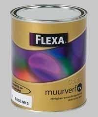 Flexa Colors Muurverf RV Mengservice Donkere Kleur naar Keuze - 1 Liter